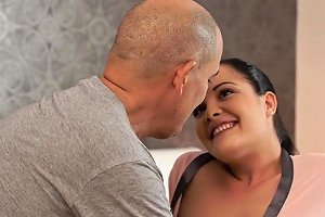 Daddy4k Black Haired Teen And Mature Guy Enjoy Sensual Sex In Bed Txxx Com