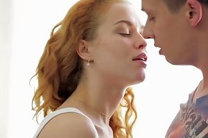 Teen Redhead Loves To Play With Him