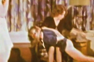 Stepmother Spanks Her Stepdaughters 1970s Vintage Porn 89