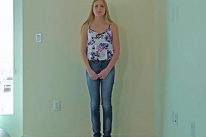 Blonde Teen Gets Creampied At Calendar Audition Hd Porn Fd